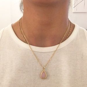 Jewelry - PINK PENDANT NECKLACE